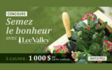 Carte-cadeau Lee Valley de 1 000 $ (produits de jardinage)