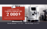 Carte-cadeau Linen Chest de 2 000 $