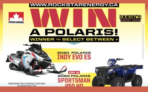 Polaris Indy Evo OU Polaris Sportsman 450