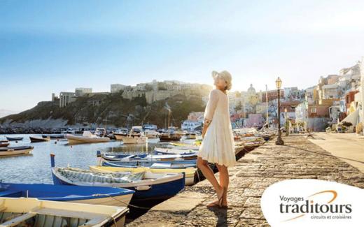 Un crédit-voyage de 5 000 $ avec Voyages Traditours