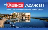 Un voyage à Cuba offerts par AIR TRANSAT