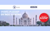 Un voyage pour 2 en Inde - Une valeur de 6 574$