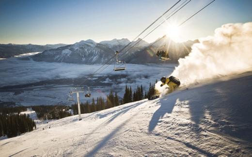 Voyage de ski à Revelstoke