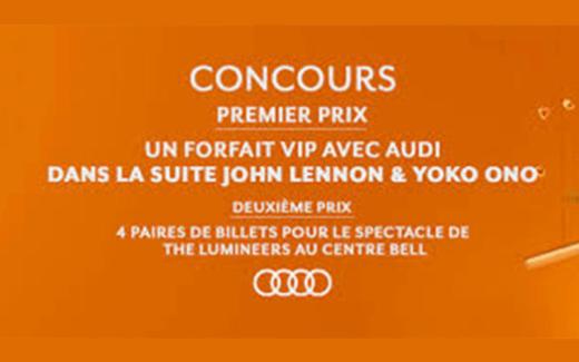 Forfait VIP dans la suite John Lennon & Yoko Ono