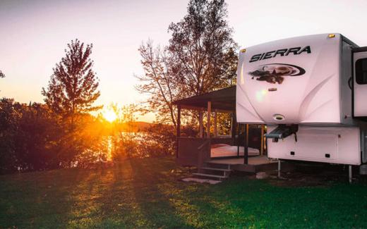Une semaine au Camping Constantineau Sainte-Anne-du-Lac