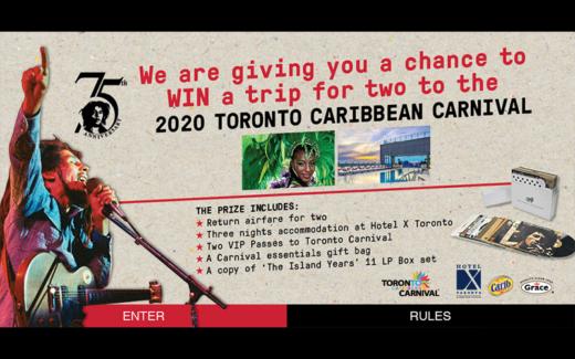 Voyage à Toronto pour le Toronto Caribbean Carnival