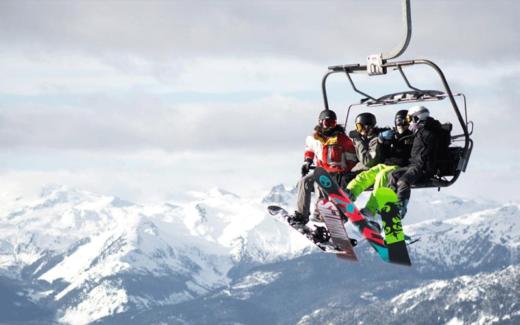 Voyage de ski à Whistler