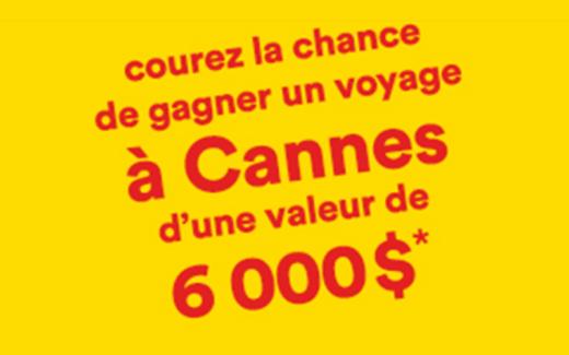 Un voyage familial à Cannes d'une valeur de 6 000$