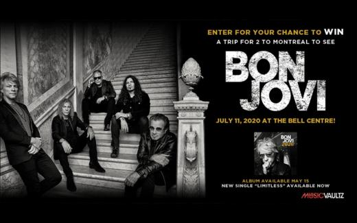 Voyage à Montréal pour voir Bon Jovi