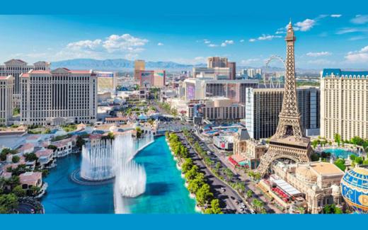 Billets d'avion aller-retour vers Las Vegas