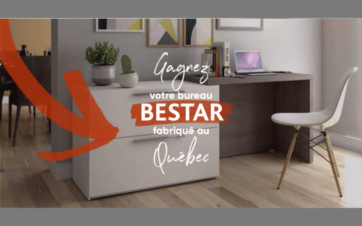 Bureau extensible Bestar