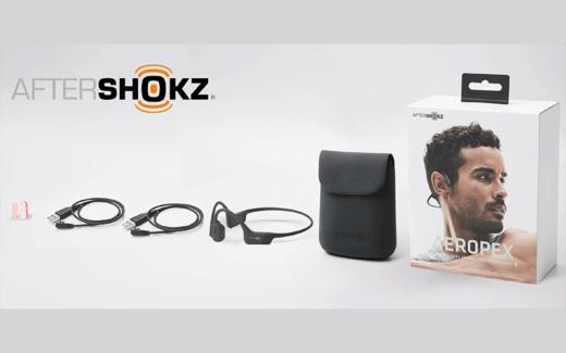 Deux paires d'écouteurs à conduction osseuse Aeropex d'Aftershokz