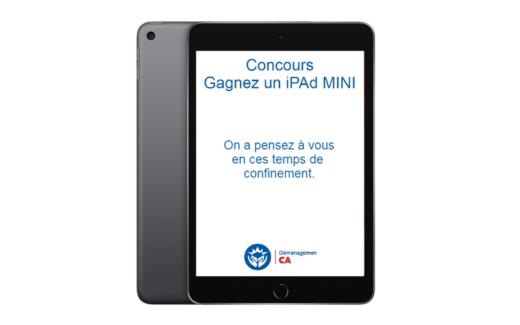 Gagnez un iPad Mini de 530$