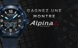 Montre AlpinerX d'une valeur de 1300$ CAD