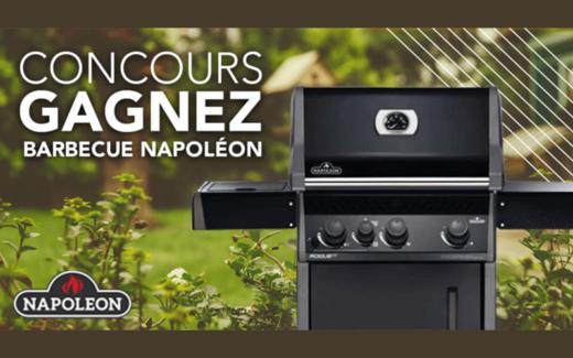 Un Barbecue Napoléon à gaz d'une valeur de 1 100$