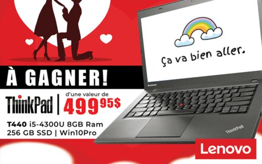 Un portable Lenovo