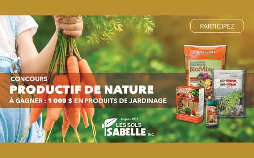 1000$ en produits de jardinage
