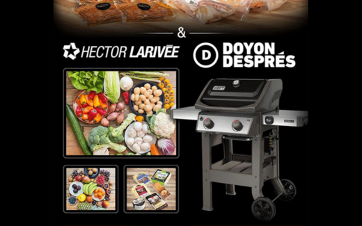BBQ de chez Doyon Després + boîte de légumes