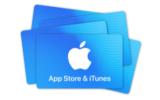 Gagnez une carte cadeau iTunes de 100$