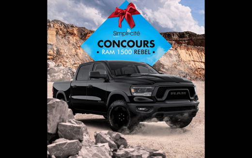 Location 6 mois d'un RAM 1500 Rebel All Black