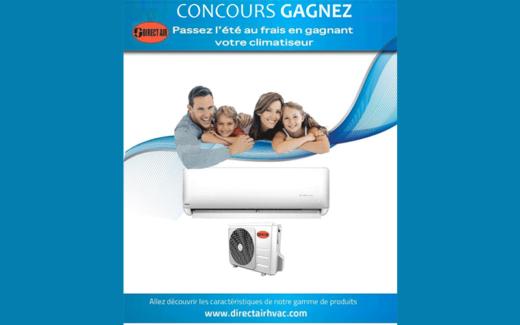 Un climatiseur Direct Air de 12,000 Btuh