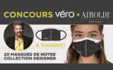 20 masques Airoldi Couture
