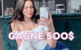 500 $ chez Ardène