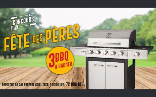 Barbecues Grill Chef de 72 000 BTU