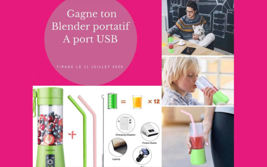 Blender portatif à port USB