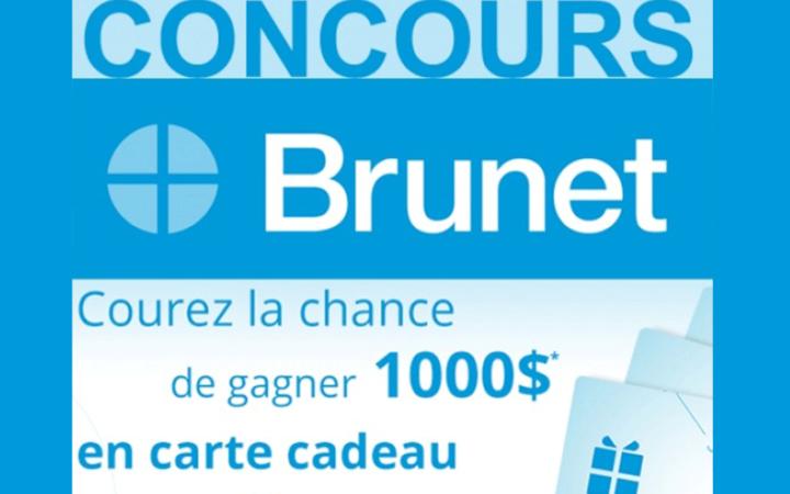 Cartes-cadeaux Brunet de 1000$