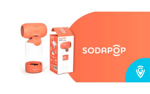 Un haut-parleur portatif SodaPop