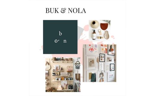 Une carte cadeau de la boutique BUK & NOLA de 200$