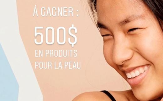 500$ boutique en ligne biendansmapeau.ca