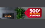 500$ chez STORESRABAIS.COM