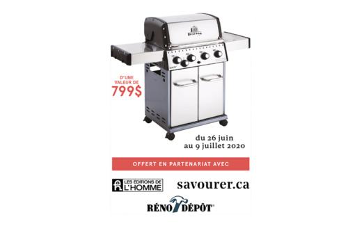 Barbecue Broil King d'une valeur de 799$