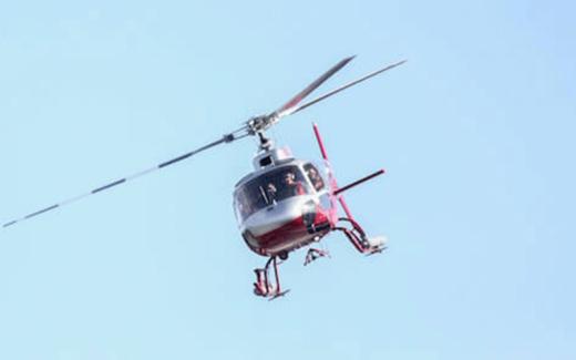Excursion en hélicoptère