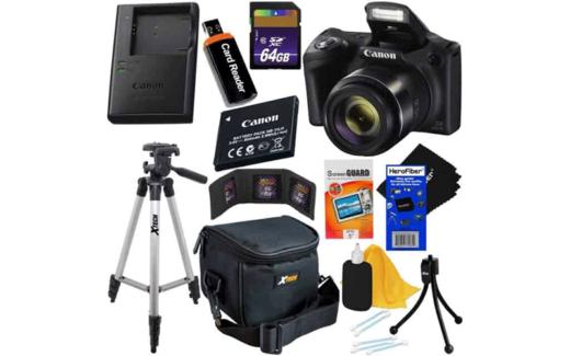Kit d'accessoires de luxe pour appareil photo numérique Canon