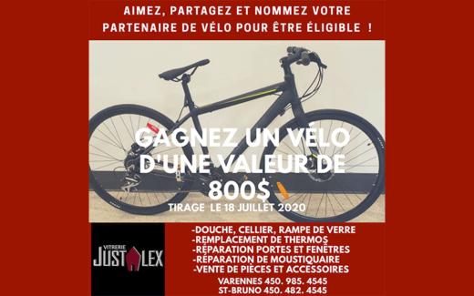 Vélo de 800$