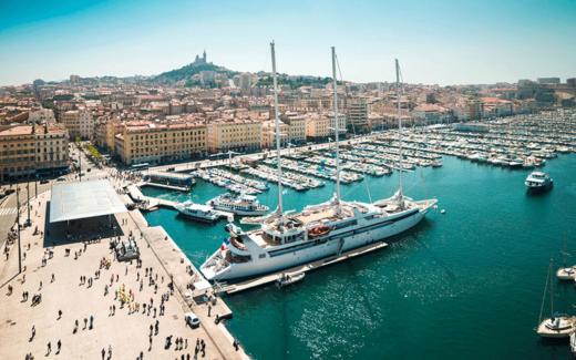 Voyage de vélo à Marseille en France