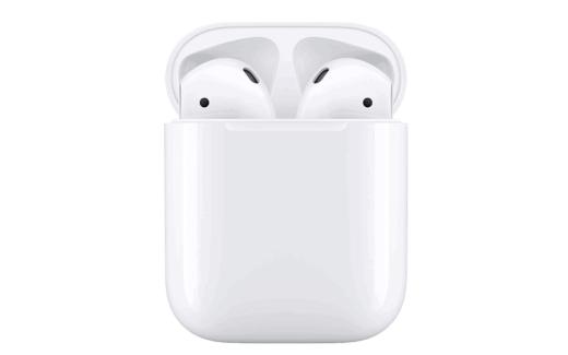 AirPods Apple avec étui de chargement filaire