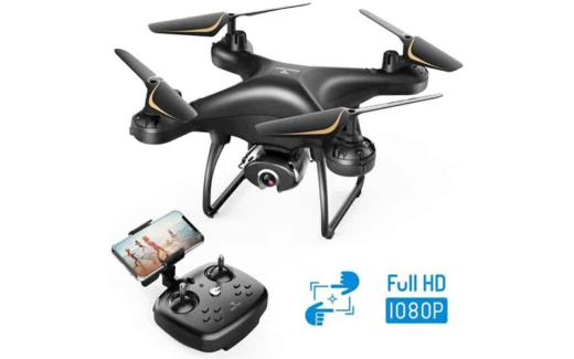 Drone SNAPTAIN SP650 1080P avec caméra pour adultes