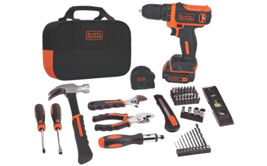 Jeu d'outils Black and Decker