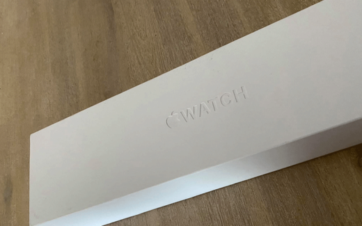 Une Apple Watch série 5