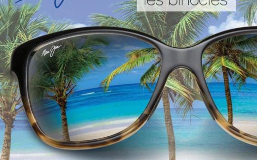 Une paire de lunettes solaires