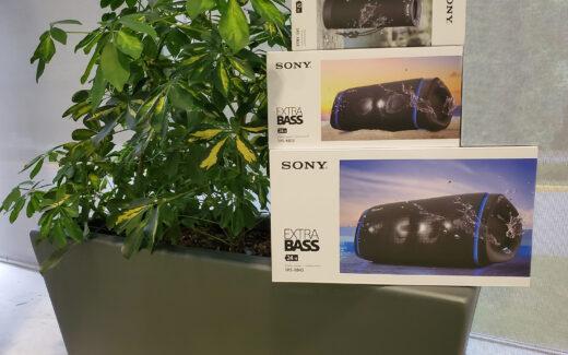 3 haut-parleurs Extra Bass Sony