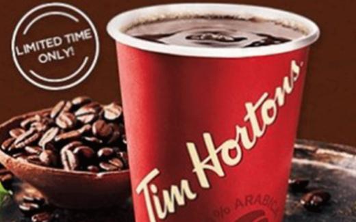 7.955.907 coupons de café et de boissons chaudes Tim Hortons