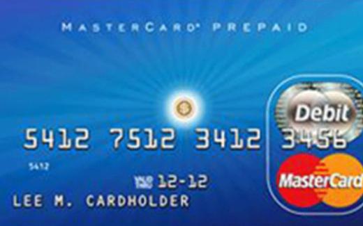 Carte prépayée Mastercard de 1 000$