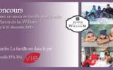 Gagnez un séjour en famille de 2 nuits au Manoir du lac William