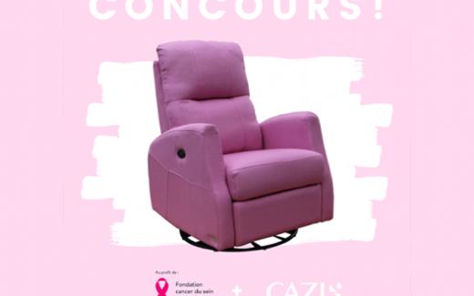 Gagnez votre fauteuil Athènes Rose