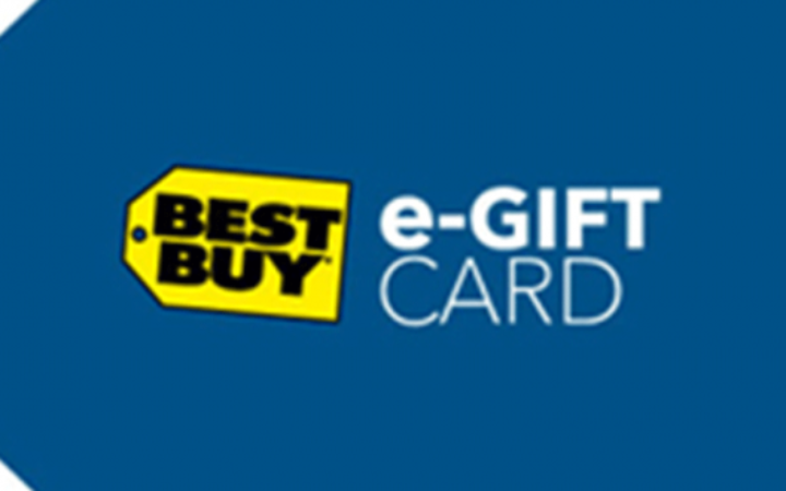 Une carte cadeau Best Buy de 500$
